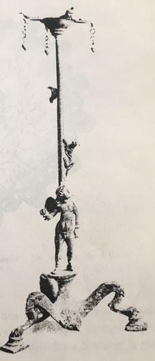 Fig. 3.- Lámpara Sabbat. Fin siglo XVIII