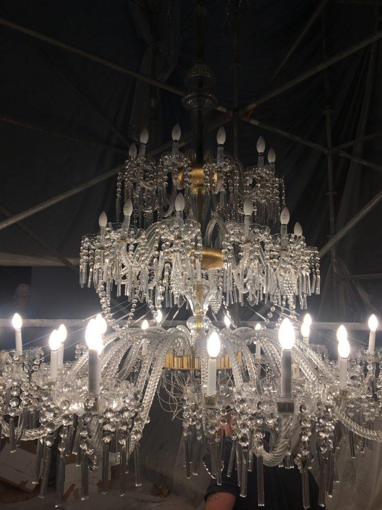 Lámpara de cristal