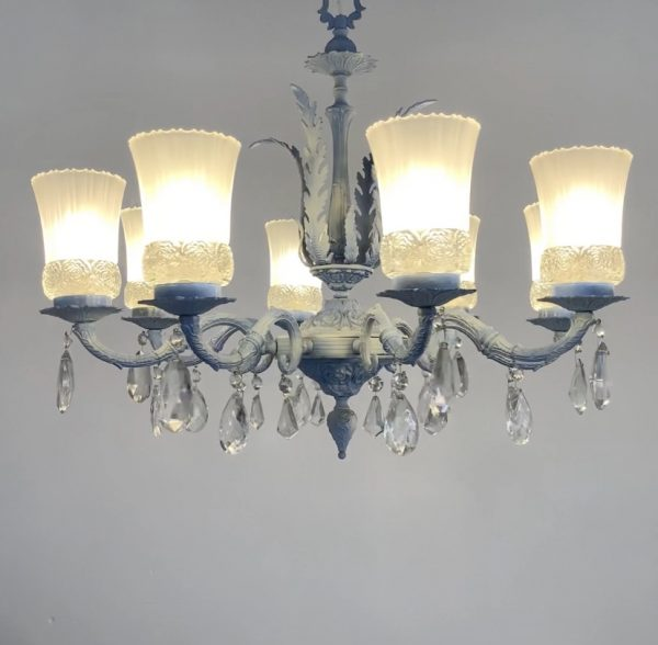 Lámpara de bronce de diseño