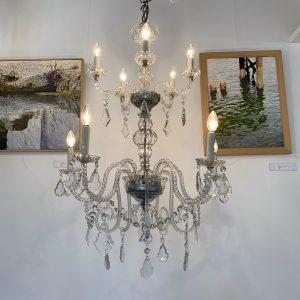 lampara araña de cristal